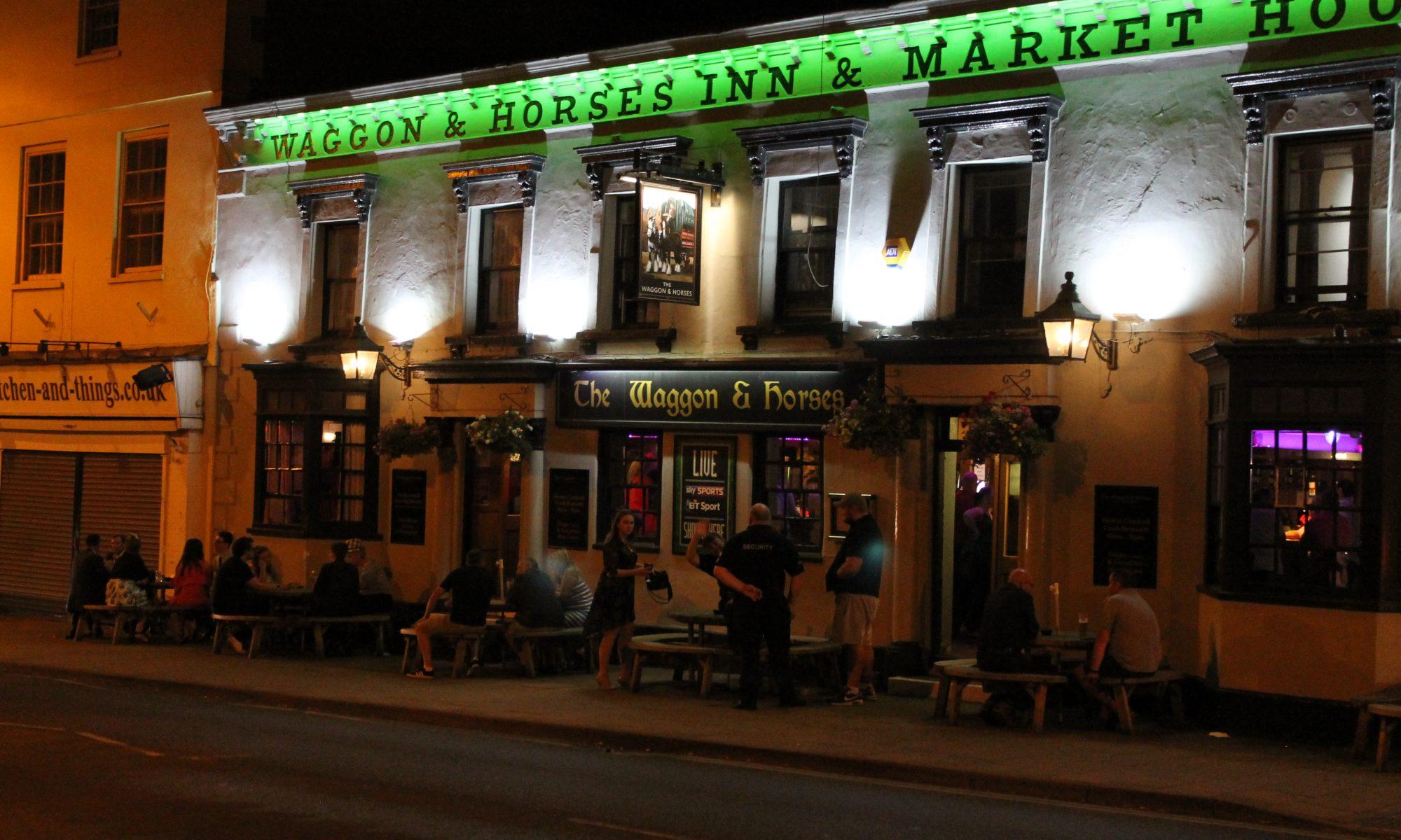 Waggon & Horses pub, Newmarket