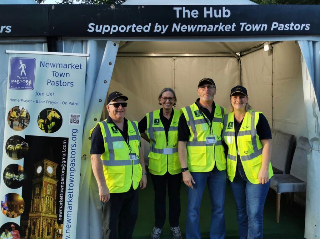 Town Pastors at Newmarket Racecourse event